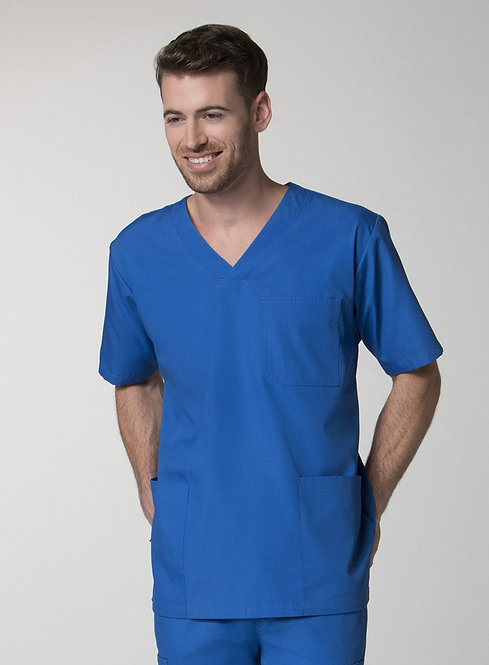 Men's 3-Pocket V-Neck Top royal