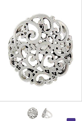 Round Filigree Ring