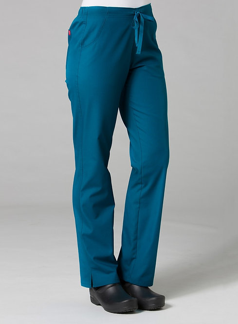9716 -Half Elastic Pant - Caribbean