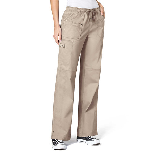 WonderFlex Faith  Women's Boot-cut  Cargo Pants khaki