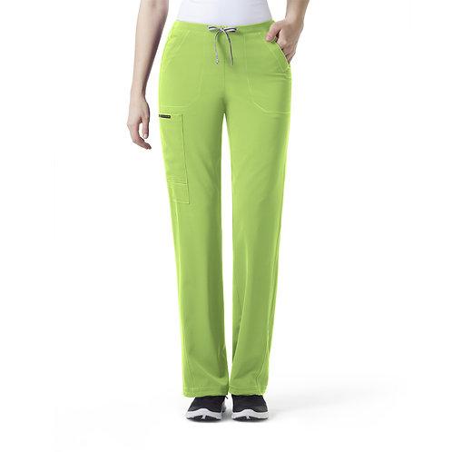 ION- Boot Cut Cinch Cargo Women's Pant Green Apple