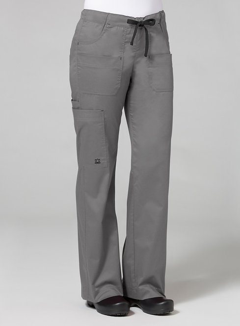 9202 [Blossom]  Utility Cargo Pant Pewter