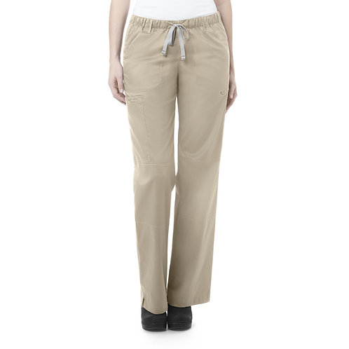 Women's Straight Leg Cargo Pant - khaki