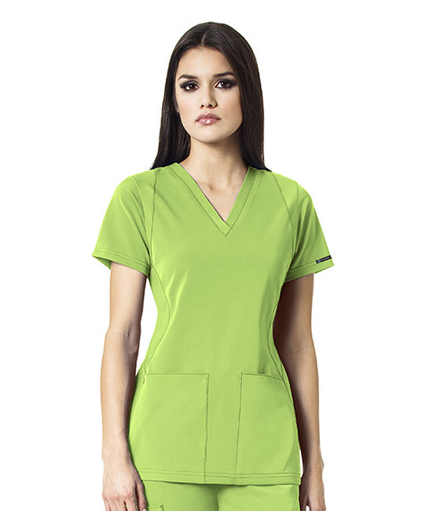 SYNC - V-Neck  Women's Top Green Apple