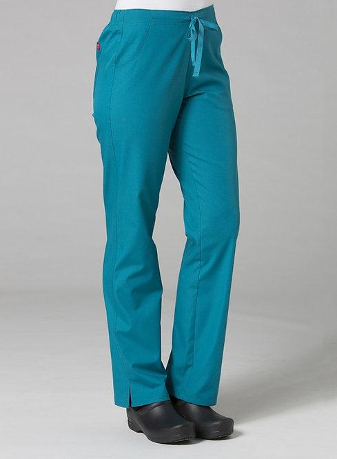 9716 -Half Elastic Pant - Teal