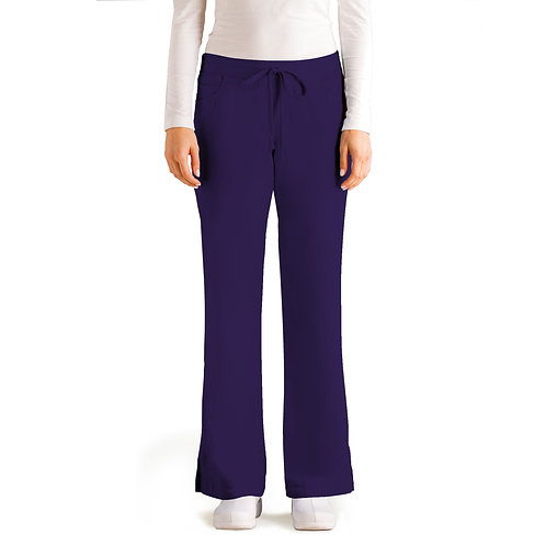 Grey's Anatomy Tm Classic 5 Pocket Pant - Purple Rain