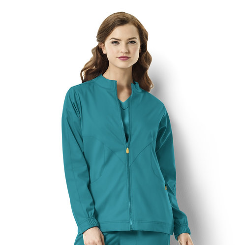 Warm-up Style Jacket  8119 Teal