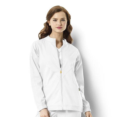Boston - Warm-up Style Jacket  8119  White
