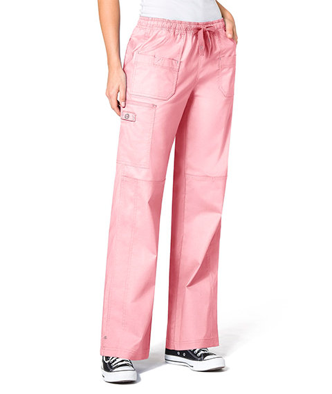 WonderFlex Faith  Women's Boot-cut  Cargo Pants Light Pink