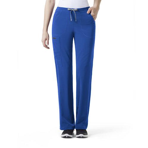 ION- Boot Cut Cinch Cargo Women's Pant Royal Blue