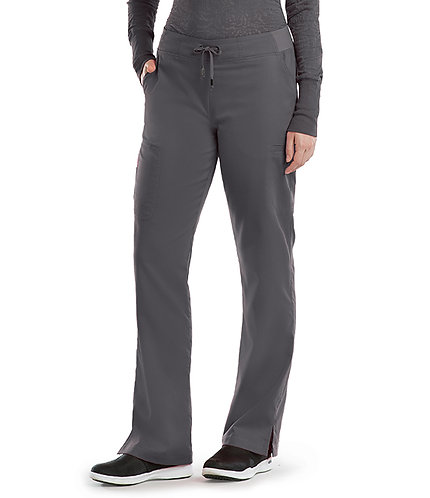Grey's Anatomy - Classic -  6 Pocket Cargo Pant(style4277) Granite