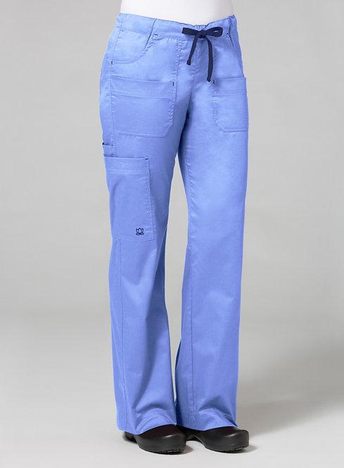 9202 [Blossom]  Utility Cargo Pant Ceil Blue