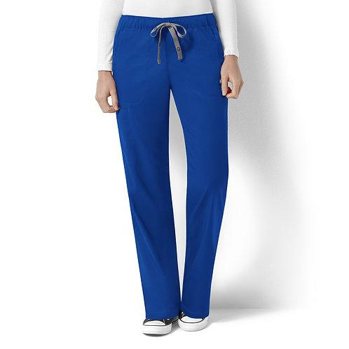 Logan Women's Elastic Waist Pant  5119- Royal
