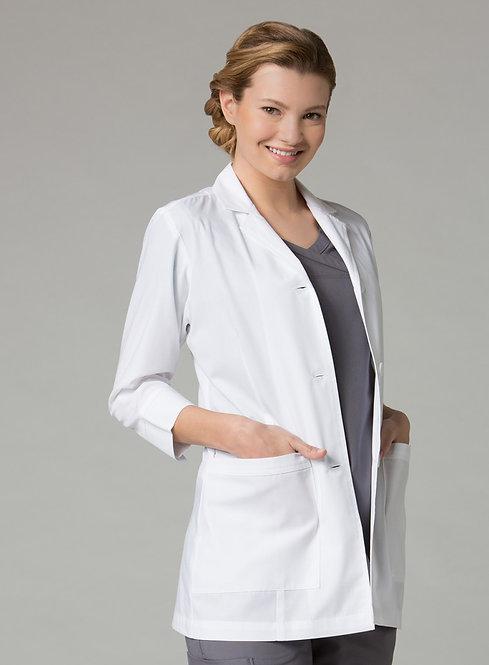 """Women's 3/4"""" Sleeve Lab Coat 7126"""