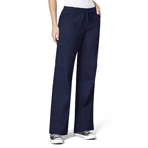 WonderFlex Faith  Women's Boot-cut  Cargo Pants Navy Blue