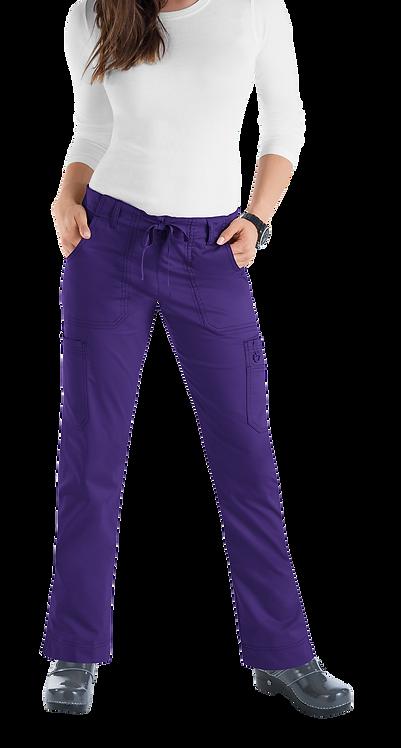 koi - Stretch Lindsey Pant - grape