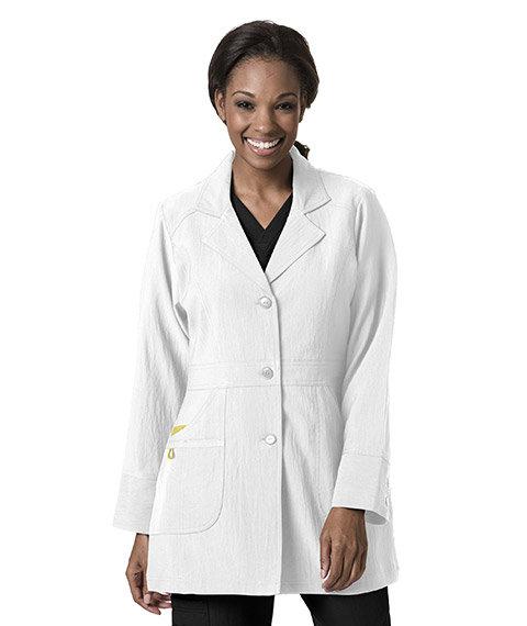 Performance Lab Coat - White