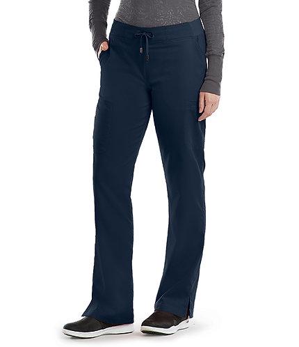 Grey's Anatomy - Classic -  6 Pocket Cargo Pant(style4277) - Black