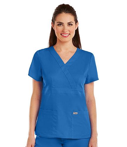 Grey's Anatomy tm-  3 Pocket Mock Wrap - Royal
