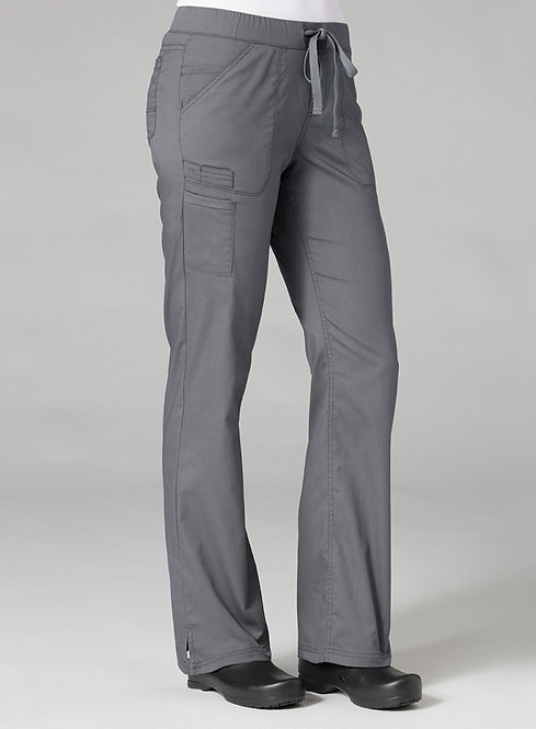 7322 [PrimaFlex]  Inner Beauty Straight Leg Pant Pewter