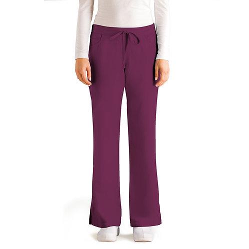 Grey's Anatomy Tm Classic 5 Pocket Pant(style4232) -Wine