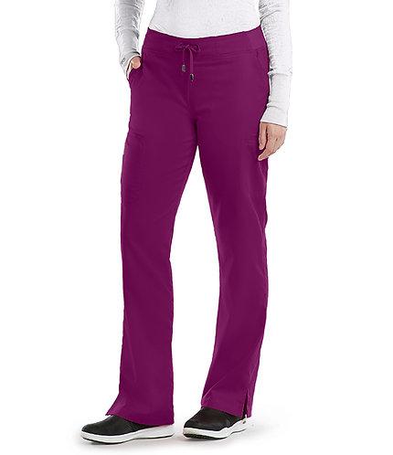 SDW - Grey's Anatomy - Classic -  6 Pocket Cargo Pant(style4277) Wine