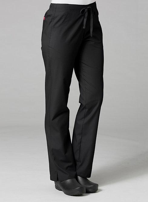 9716 -Half Elastic Pant - Black