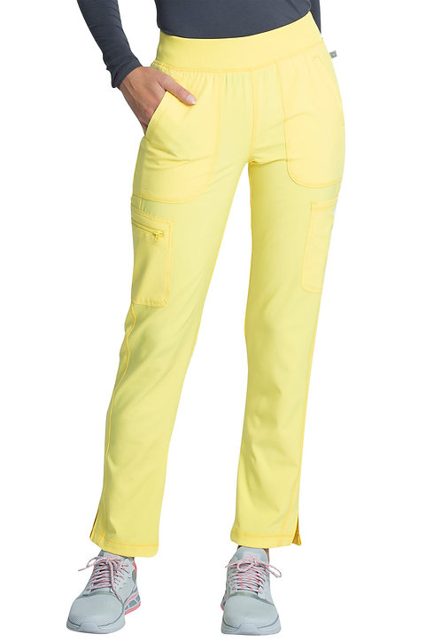 Cherokee - Infinity -Mid Rise Tapered Leg Pull-on Pant (New Colors)