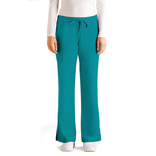 Grey's Anatomy Tm Classic 5 Pocket Pant- Teal