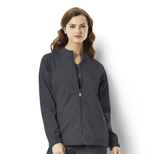 Boston - Warm-up Style Jacket  8119  Pewter