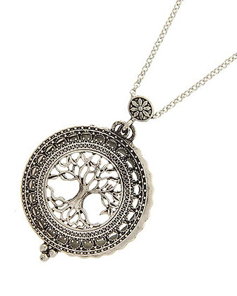 Tree of Life Long Magnifying Necklace