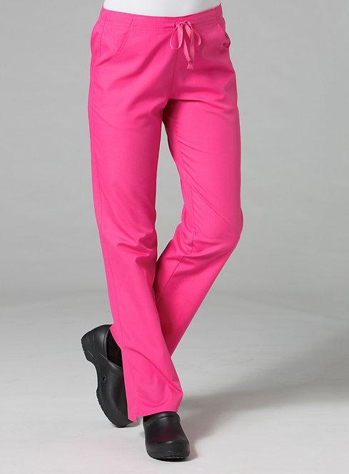 9716 -Half Elastic Pant - Pink
