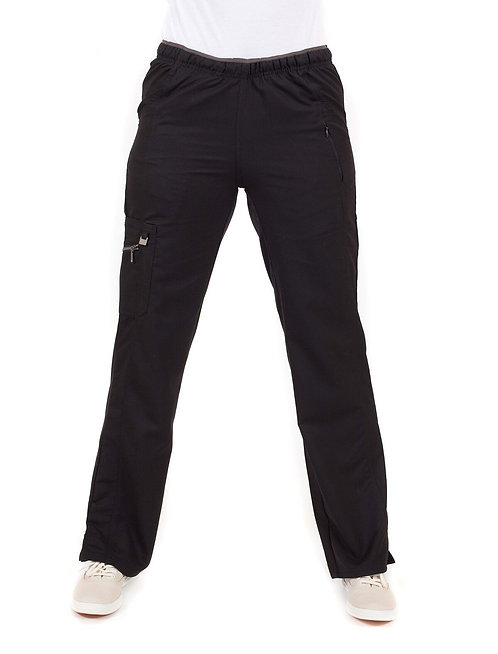 Life Threads - Ergo - Cargo Scrub Pant-Black
