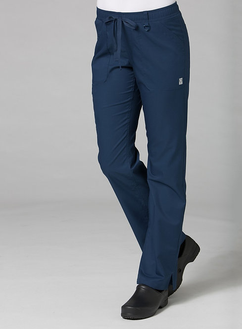 7308 [EON]  Full Elastic Cargo Pant Navy Blue