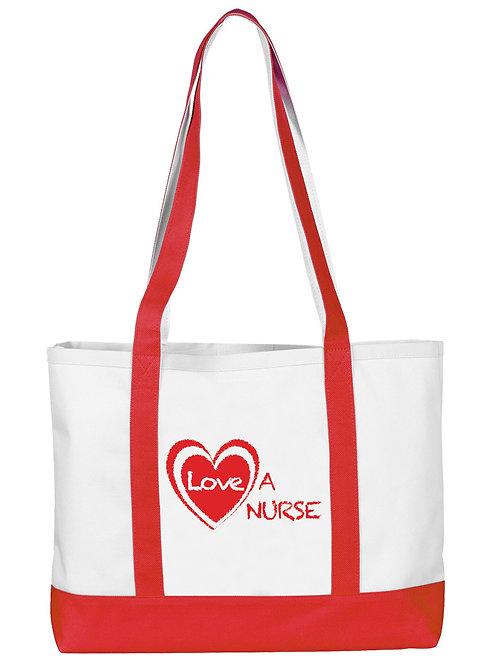 Prestige Large Tote Bag -Love a Nurse