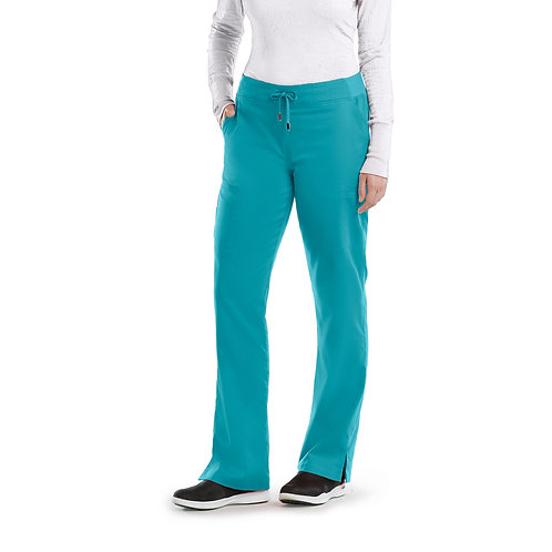 Grey's Anatomy tm 6 Pocket Cargo Pant - Teal