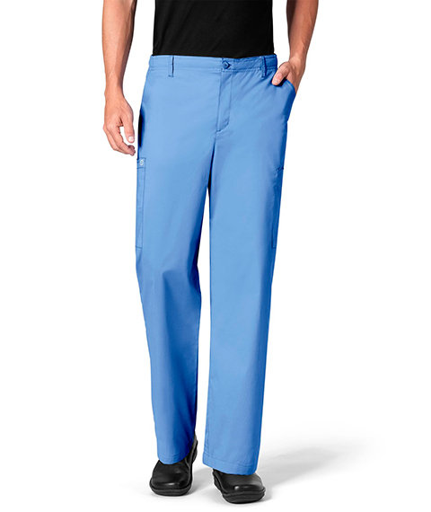 Wonder Work Men's Cargo Pant Ceil Blue