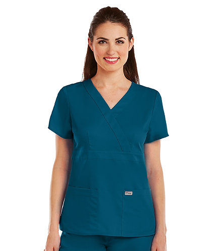 Grey's Anatomy tm-  3 Pocket Mock Wrap - Bahama