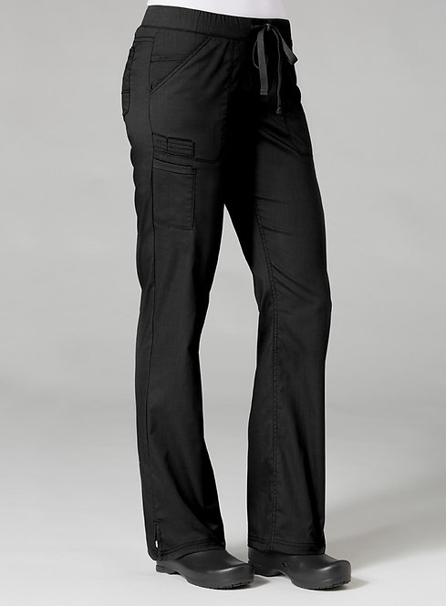 7322 [PrimaFlex]  Inner Beauty Straight Leg Pant Black