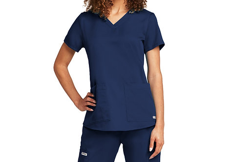 Grey's Anatomy tm  2 Pocket V-neck SH