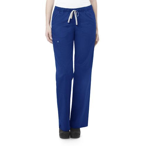 Women's Straight Leg Cargo Pant - Galaxy Blue