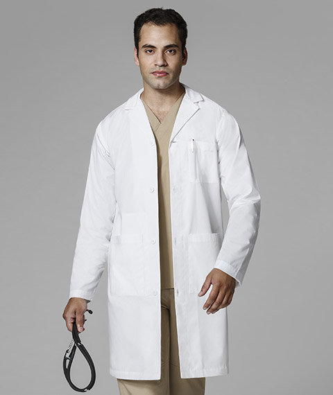 Wonder Winks - Men's Long Lab Coat ( 7302 )