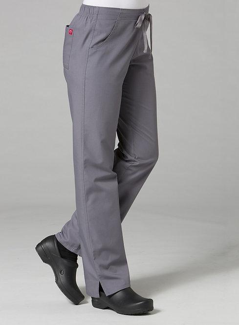 9716 -Half Elastic Pant - Pewter