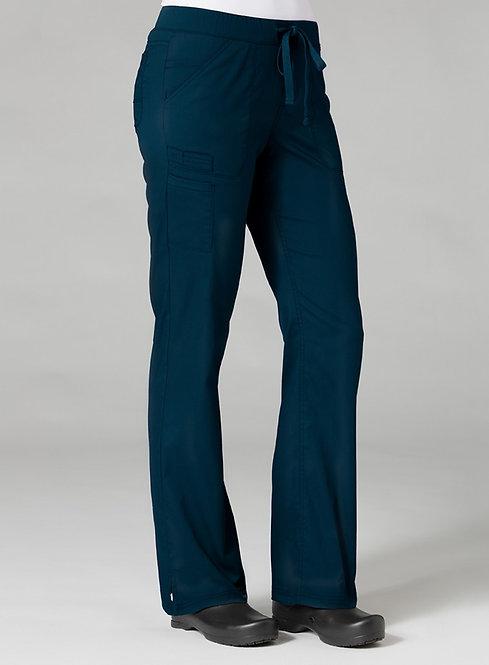 7322 [PrimaFlex]  Inner Beauty Straight Leg Pant Navy Blue