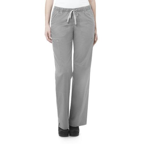 Women's Straight Leg Cargo Pant - Grey