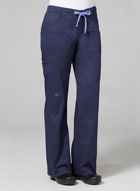 9202 [Blossom]  Utility Cargo Pant Navy Blue