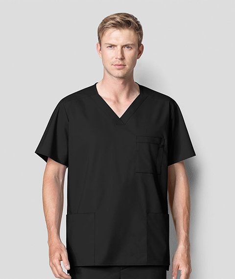 Wonder Work - Men's Multi-Pocket Top Black