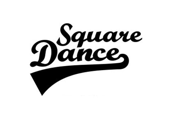 Vinyl Sticker - Square Dance Slash