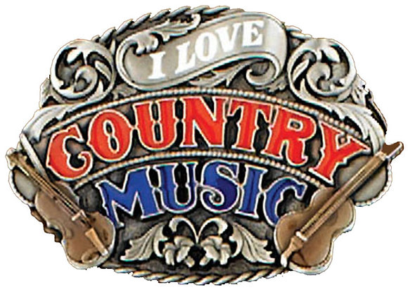 """Buckle - """"I Love Country Music"""" - E80"""