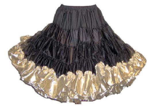 Lame Bottom Petticoat Style #1177 - 60 yard only Assorted Colours